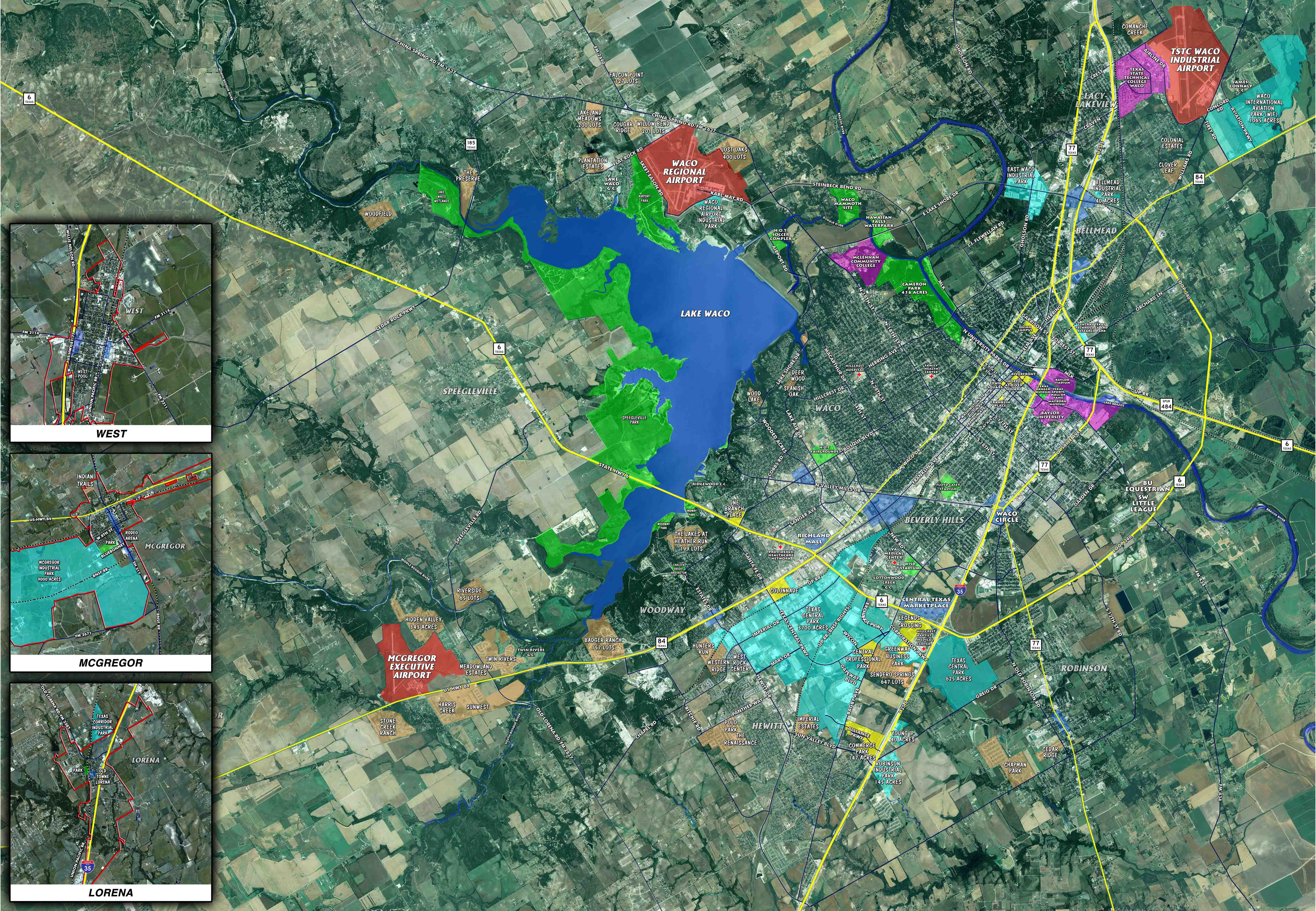 Community Maps Greater Waco Chamber