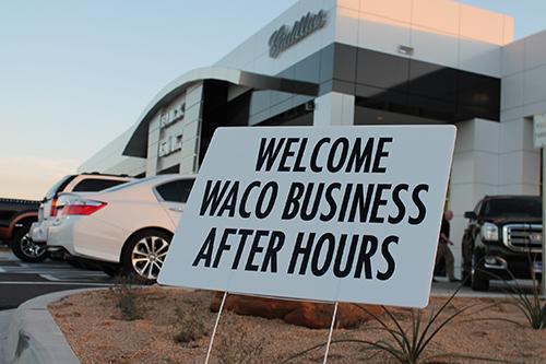 Business after hours at richard karr motors waco chamber for Richard karr motors waco texas