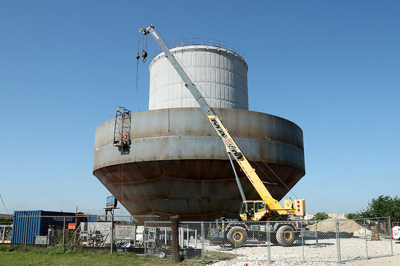 Buiding Waco - Owen Lane Water Tower WEB