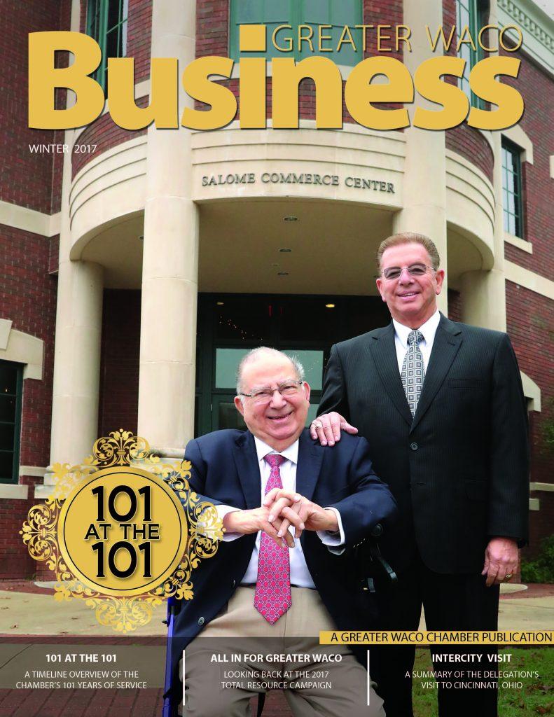 Newly Designed Greater Waco Business Quarterly Magazine