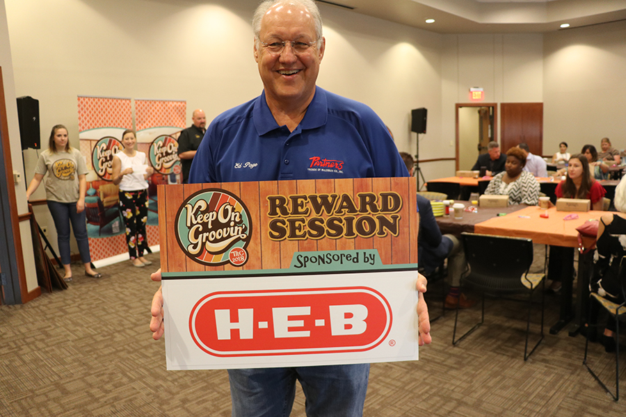 TRC 2018: 8th Reward Session sponsored by H-E-B