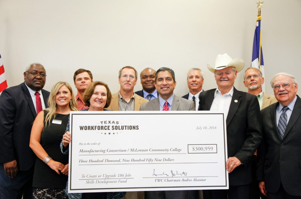 McLennan Community College Receives Grant for Local Skills Training