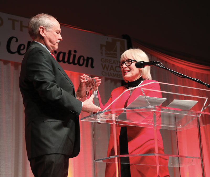 Building a Legacy: Virginia DuPuy Receives 2019 Greater Waco Chamber Legacy Award