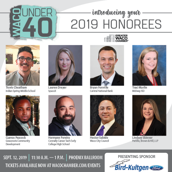 Waco Under 40 Honorees