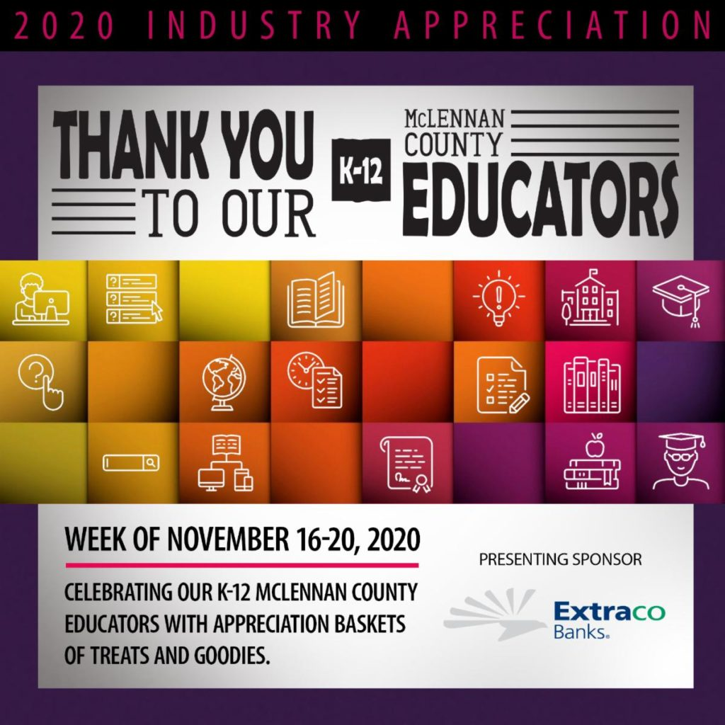 Thank you to our K-12 McLennan County Educators.